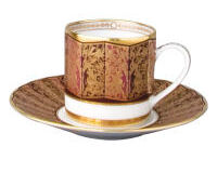 Eventail Ad Cup Saucer, small