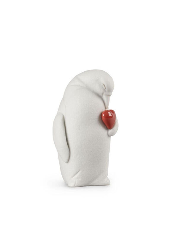 Colby-Protective Penguin Figurine, large