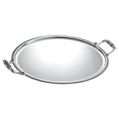 Malmaison Oval Serving Tray with Handles