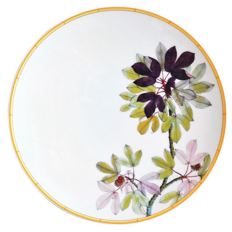 Jardin Indien Salad Plate, large