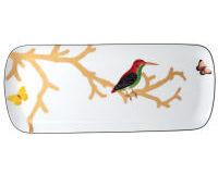 Aux Oiseaux Cake Platter Rectangular, small