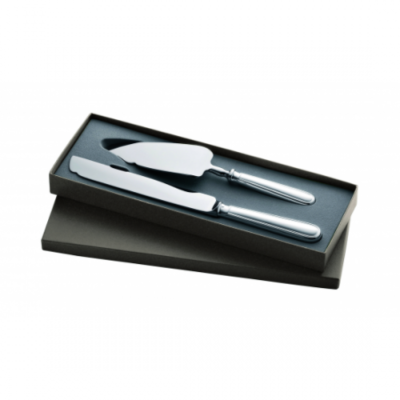 Albi Box Of 1 Knife And 1 Cake/Pie Server