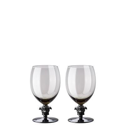 VERSACE MEDUSA LUMIERE HAZE SET OF 2 WATER GLASS