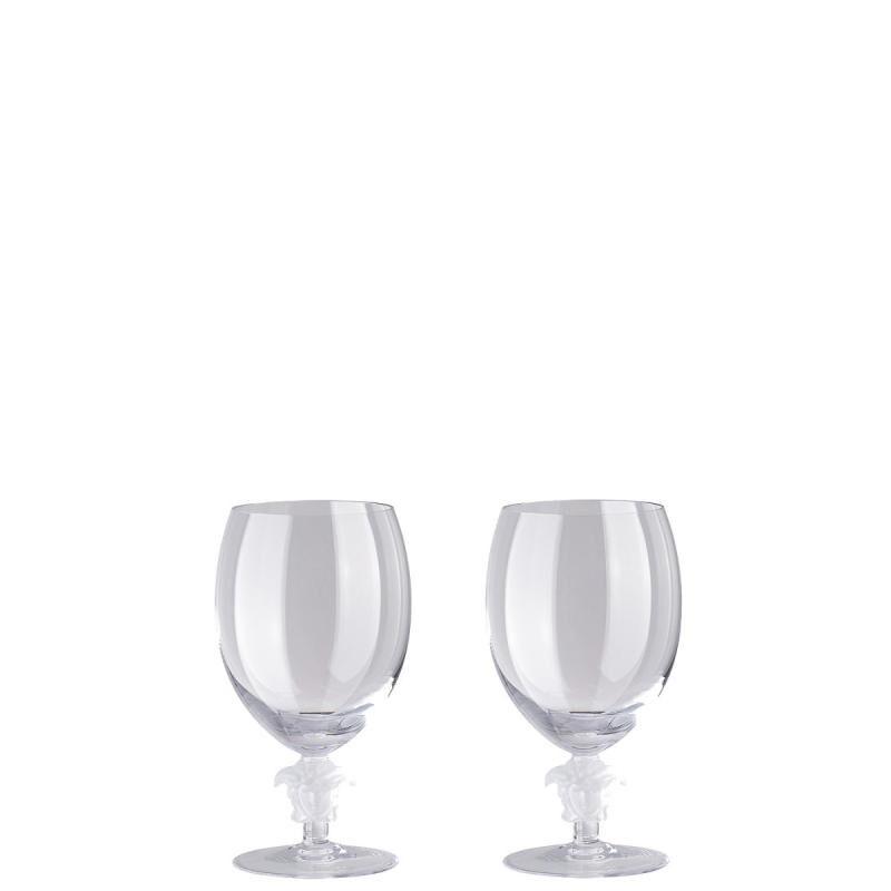 Versace Medusa Lumiere Red Wine Glass Set, large
