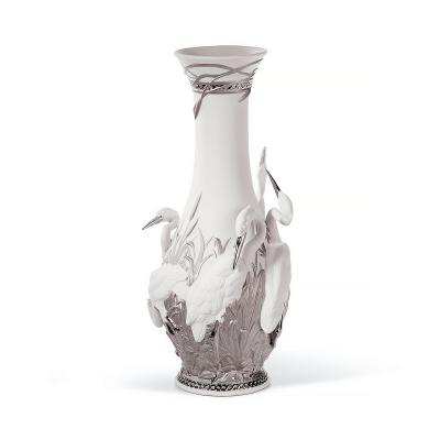 Herons' Realm Vase