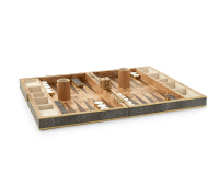 Shagreen Backgammon Set, small