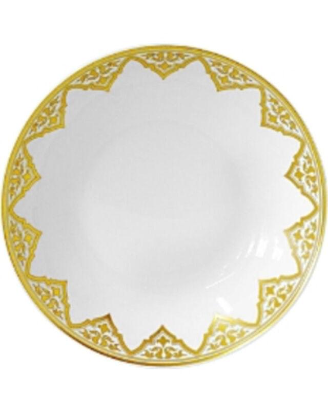Venise Coupe Soup Plate, large