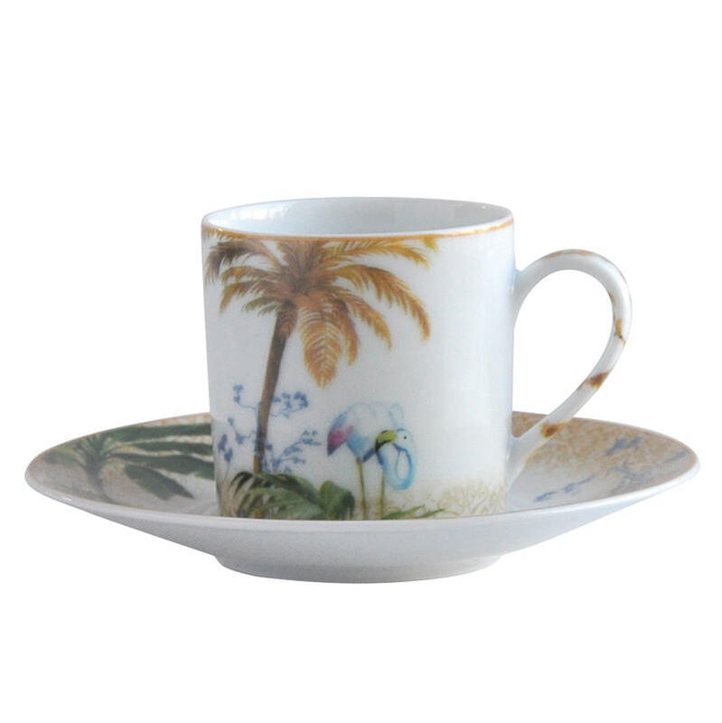 TROPIQUES AD CUP & SAUCER, large