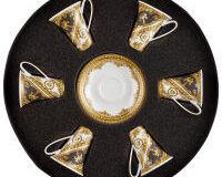 فيرساتشي  أحب باروك مجموعة كأس اسبريسو وصحن, small