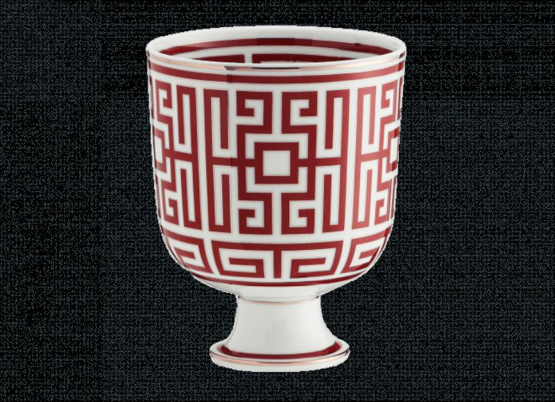 Vase Labirinto Scarlatto, large
