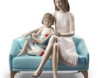 تمثال أمنا لحظة القراءة, small