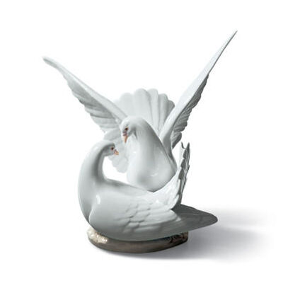 Love Nest Doves Figurine