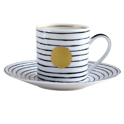 Aboro Espresso Cup And Saucer