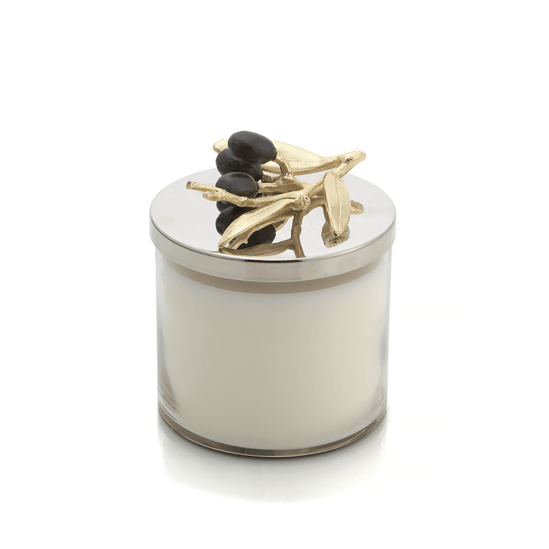 Olive Branch Candle, large