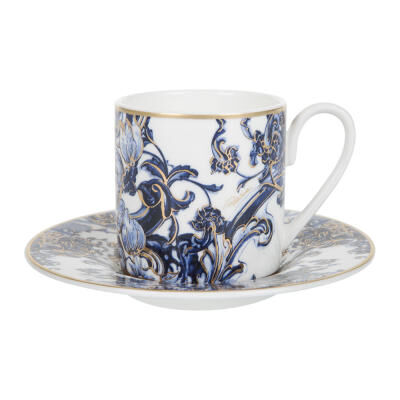 AZULEJOS COFFEE CUP AND SAUCER